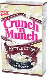 Crunch 'n Munch Kettle Corn