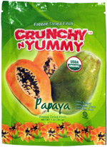 Crunchy N Yummy Papaya Freeze Dried Fruit