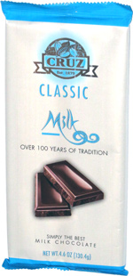 Cruz Classic Milk Chocolate