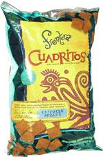 Frontera Cuadritos Bite-Size Tortilla Chips Chipotle Sesame