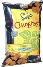 Frontera Cuadritos Bite-Size Tortilla Chips Roasted Tomato Cilantro