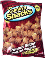 Cumby's Snacks Peanut Butter Pretzel Nuggets