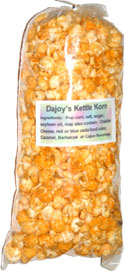 Dajoy's Cheesy-Barbecue Kettle Korn