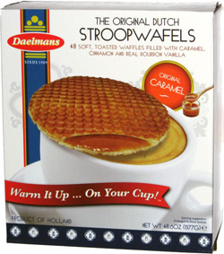 The Original Dutch Stroopwafels Original Caramel