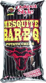 Dakota Style Industrial Strength Mesquite Bar-B-Q Potato Chips