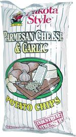Dakota Style Parmesan Cheese & Garlic Industrial Strength Potato Chips