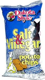 Dakota Style Salt & Vinegar Industrial Strength Potato Chips