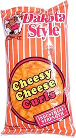 Dakota Style Cheesy Cheese Curls