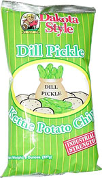 Dakota Style Dill Pickle Kettle Potato Chips