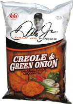 Dale Jr. Foods Creole & Green Onion Potato Chips