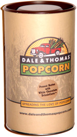 Dale & Thomas Popcorn Peanut Butter with White Chocolate Drizzlecorn