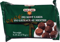 Dan Cake Mini Mint Cakes
