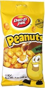 Dan-D Pak Peanuts Honey