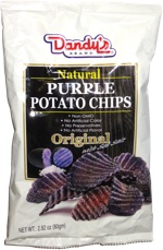 Dandy's Natural Purple Potato Chips Original with Sea Salt