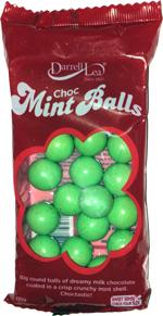 Darrell Lea Choc Mint Balls