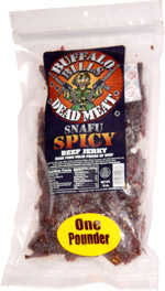 Buffalo Bills Dead Meat Snafu Spicy Beef Jerky