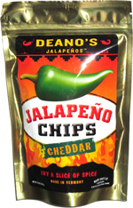 Deano's Jalapeño Chips Cheddar