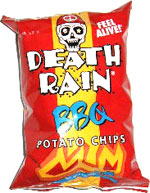 Death Rain BBQ Potato Chips