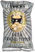 Deep River Snacks Salt & Cracker Pepper Kettle Cooked Potato Chips