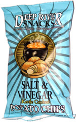 Deep River Snacks Salt & Vinegar Kettle Cooked Potato Chips