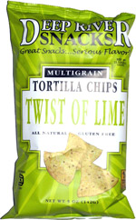 Deep River Snacks Multigrain Tortilla Chips Twist of Lime
