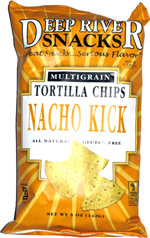 Deep River Snacks Multigrain Tortilla Chips Nacho Kick