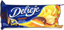 Delicje Orange European Biscuits