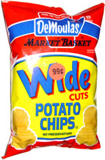 Demoulas Market Basket Wide Cut Potato Chips