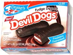 Drake's Fudge Dipped Devil Dogs