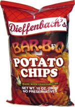 Dieffenbach's Bar-B-Q Potato Chips