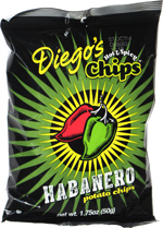 Diego's Hot & Spicy Chips Habanero