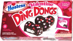 Hostess Valentine Ding Dongs