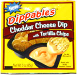 Dippables Cheddar Cheese Dip with Tortilla Chips