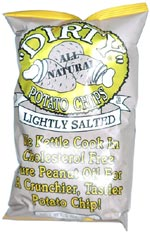Dirty Potato Chips Light Salted