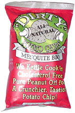 Dirty Potato Chips Mesquite BBQ
