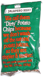 Dirty Potato Chips Jalapeno Heat
