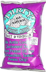 Dirty Potato Chips Salt & Vinegar