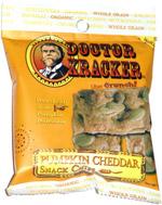Doctor Kracker Pumpkin Cheddar Snack Chips