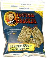 Doctor Kracker Seeded Spelt Snack Chips