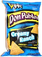 Don Pablo's Creamy Ranch Tortilla Chips