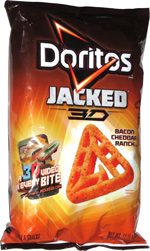 Doritos Jacked 3D Bacon Cheddar Ranch