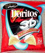 Doritos 3D's Nacho Cheesier 3d Doritos