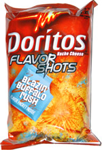 Doritos Flavor Shots Blazin' Buffalo Rush