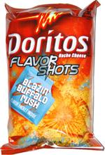 Doritos Flavor Shots Blazin' Buffalo Rush