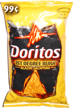 Doritos 1st Degree Burn Blazin' Jalapeno