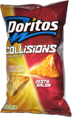 Doritos Collisions Chicken Sizzler Zesty Salsa