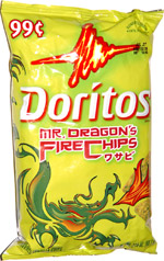 Doritos Mr. Dragon's Fire Chips