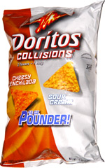 Doritos Collisions Cheesy Enchilada Sour Cream