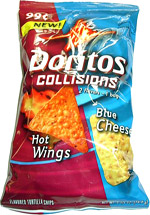 Doritos Collisions Hot Wings Blue Cheese Tortilla Chips