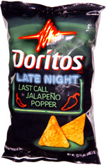 Doritos Late Night Last Call Jalapeno Popper